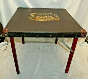 Vtg 20 Mid Century Folding Card Table Kitchen Dining Table Kids Child S