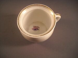 Vintage Goo Goo Eye Porcelain Chamber Pot Morning Exercise