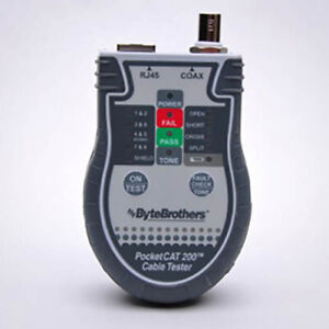 Triplett bytebrothers Ctx200 Pocket Cat Network Cable Tester No Probe