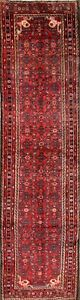 Over Sized Geometric 4x14 Hamedan Runner Rug Oriental Carpet 13 9 X 3 9
