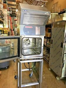 Blodgett Hoodini Combi Oven On Stand Self contained Built In Hood Electric