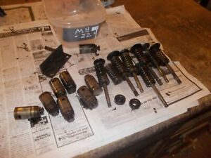 Massey Harris 22 Tractor Mh Engine 7 Motor Valves Keepers Lifters Springs