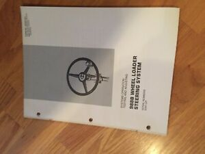 Cat 988b Wheel Loader 988 Tractor Steering Service Manual Antique 50w