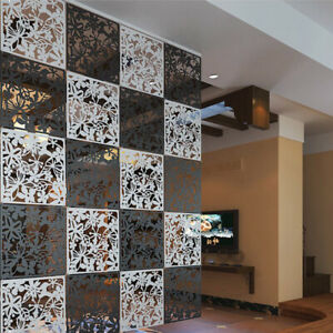 12pcs Room Divider Partition Hanging Screen Wall Decals Diy Home Decor 15