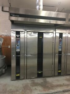 Baxter Double Rack Gas Oven