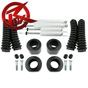 97 02 Jeep Wrangler Tj Full 3 Lift Kit Shocks W Boots Transfer Case Drop 4x4