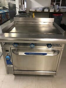 Imperial 36 Commercial Griddle And Convection Oven