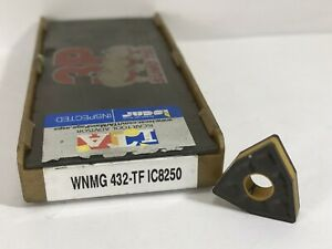 Iscar Wnmg 432 tf Wnmg 080408 tf New Carbide Insert Grade Ic8250 1pc