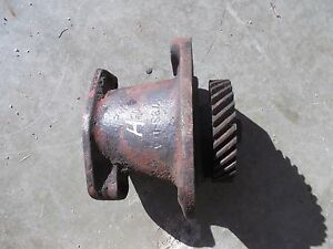 Farmall H Hv Early Sh Tractor Originl Ih Engine Motor Distributor Drive Assembly