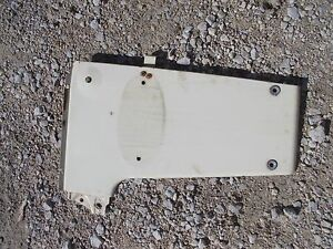 International 340 Utility Tractor Ih Front Right Radiator Side Cover Hood Panel