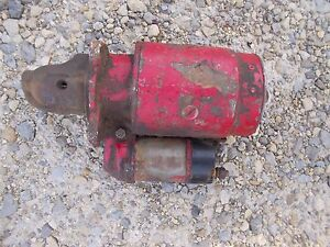 Farmall 560 460 Rowcrop Tractor Ih Good Working 12v Engine Motr Starter Assembly