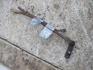 International 340 Rowcrop Tractor Ihc Hydraulic Traction Booster Linkage Rods