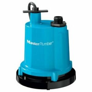 New Master Plumber Pentair 126981 1 4 Hp Heavy Duty Submersible Utility Pump