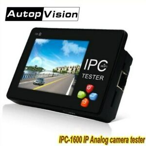 3 5 Touch Screen Portable Ip Analog Camera Tester H 265 4k Cctv Tester Monitor