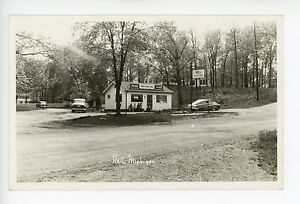 HELL Michigan—Rare Vintage Roadside Photo—Ranch House Grill—Coca Cola 1940s