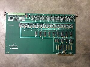 Kearney Trecker Mm800 Milling Machine Input Isolator Board 1 21281