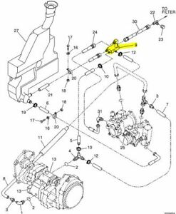 Oem Nos New Holland 86551055 Hyd Manifold For Skid Steers