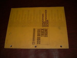 Cat 3208 Engine Truck Operation Maintenance Manual
