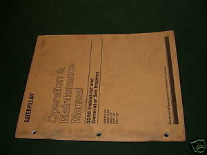 Cat 3208 Industrial Operation Manual Engine Maintenance