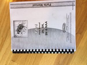 Jensales Ford Shop Tractor Parts Catalog Manualnaa 2n 8n 9n Nice