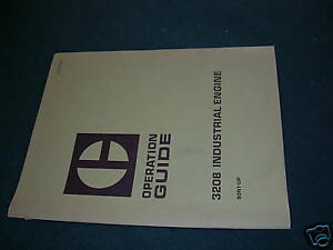 Caterpillar Cat 3208 Operation Manual Engine Guide