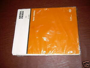 Case Tractor 32 908 Loader Parts Catalog Book