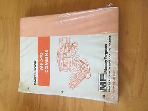 Massey Ferguson Tractor Parts Book Catalog Manual Mf 540 Combine