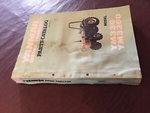 Yanmar Ym336 Ym336d 336 Tractor Parts Manual Book Catalog