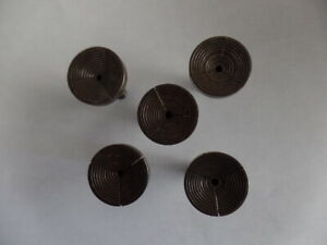 Vintage Jewelers Watchmakers 8mm Lathe Step Collets Chuck 1 2 and 4