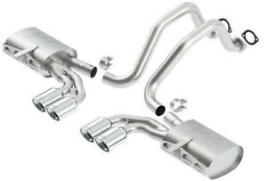 Borla 140428 Cat back Atak Exhaust System 97 04 Chevy Corvette C5 z06 5 7l