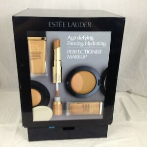 Estee Lauder Acrylic Plastic Retail Display Case 4 Sided 18 x13