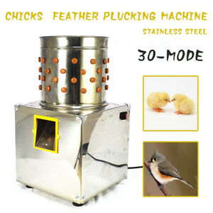 Poultry Feather Plucking Machine Poultry Duck Quail Chicken Plucker Machine