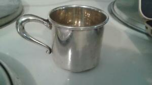 Vintage Sterling Silver Smyth 513 Baby Cup Or Spirits Cup J04
