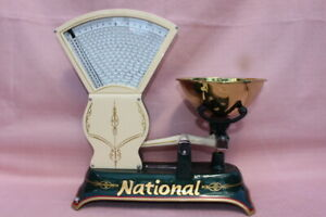 Vintage National Candy Scale Tobbaco Coffee
