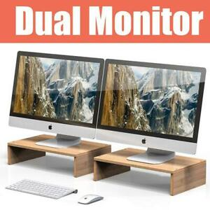 Well Weng Monitor Riser Stand For Computer Laptop Desk Imac Printer 1pack