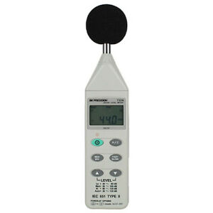 Bk Precision 732a Digital Sound Level Meter With Rs232 Capability