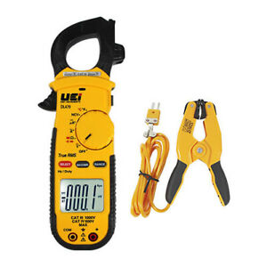 Uei Dl479combo Trms Hvac r Clamp Meter Combo Kit Ac 600a W attpc3