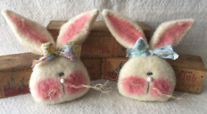 Primitive Ornies Easter Bunnies Bowl Fillers Make Do S Prim Ornies Tucks