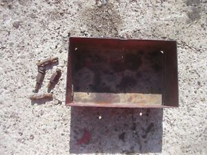 Farmall 350 400 450 Rc Tractor Ih Ihc Tool Box For Under Gas Tank Bolts