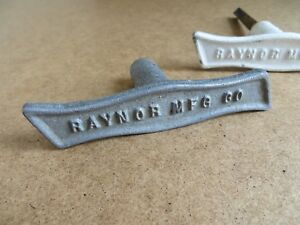 Salvaged Vintage Raynor Garage Door Aluminum Handle