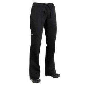 Chef Works Cpwo blk s Women s Black Cargo Chef Pants s