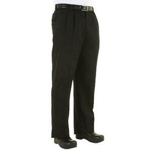 Chef Works Cebp 2xl Black Chef Pants 2xl