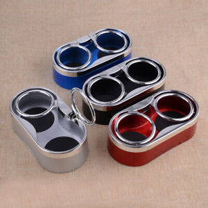 Dual Cup Holder Insert Folding Drink Fit For Boat Marine Car Rv Truck Suv Van