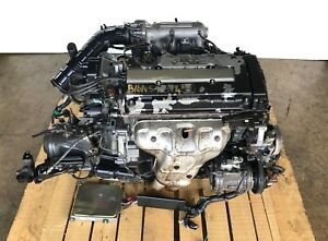 Honda Civic Sir Del Sol 1 6l Vtec Engine 5spd Trans Harness Ecu Jdm B16a Obd1