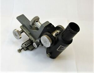 Gamma Scientific 700 10a Photometric Microscope Stage Positioner Assembly