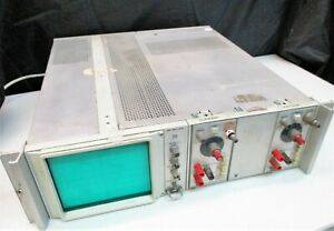 Tektronix D10 Oscilloscope With Two 5a19n Differential Amplifiers For Repair