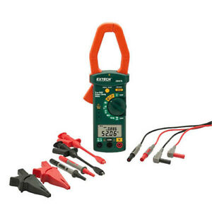 Extech 380976 k True rms Ac 3 phase Power Clamp Meter Kit 600v 1000a