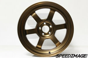 Rota Grid V Wheels Sport Bronze 17x9 42mm 5x100 For Subaru Wrx Brz Scion Frs