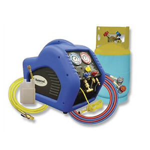 Mastercool 69110 Automotive A c Recovery System blue yellow