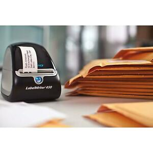 Dymo Labelwriter 450 Super Bundle Free Label Printer With 2 Rolls Of Shipping